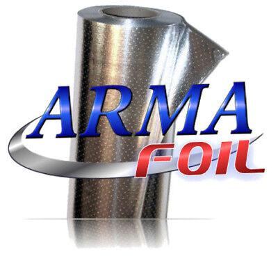 Arma Foil Radiant Barrier Reflective Insulation 25.5 Wide 500 Sqft Attic