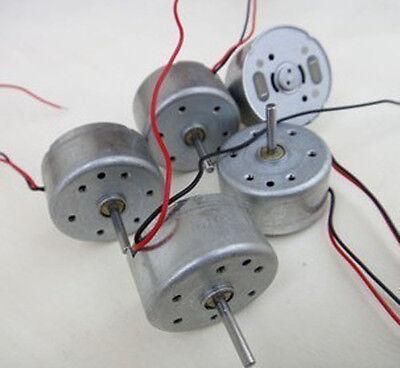 10pcs 300series Solar Power Generation Motor Diy Small Dc Motor