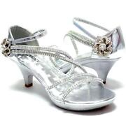Womens Silver Shoes Size 9