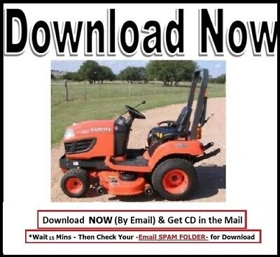 Kubota Bx1860 Bx2360 Bx2660 Tractor Workshop Service Manual Mower Deck