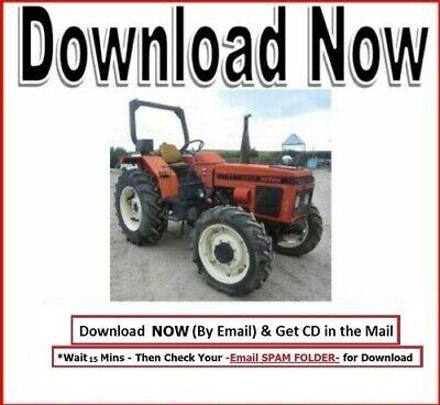 Zetor Tractor 3320 3340 4320 4340 Workshop Service Manual Cd