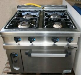 Hobart Commercial Gas Hob and Oven