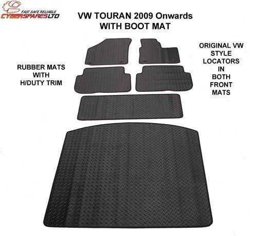Vw Touran Rubber Car Mats Ebay
