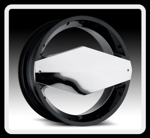 22 Inch Black Chrome Rims
