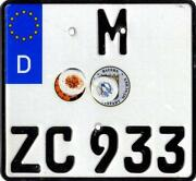BMW Euro Plate