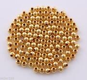 4mm Gold Spacer Beads
