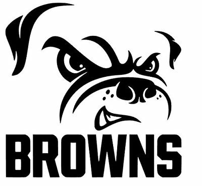 - CLEVELAND BROWNS DIE CUT DECAL PERFECT FOR WINDOWS OR WALLS