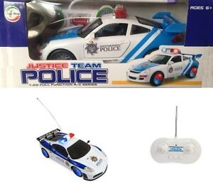 1:20 RC Radio Remote Control Police Racing Car Battery Toy Kids Boys