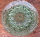 Green Plate Tiara Contemporary Glass