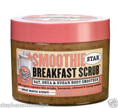Soap And Glory Smoothie Star Breakfast Scrub Oat, Shea Butter & Sugar 300ml