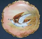 Limoges Game Plate