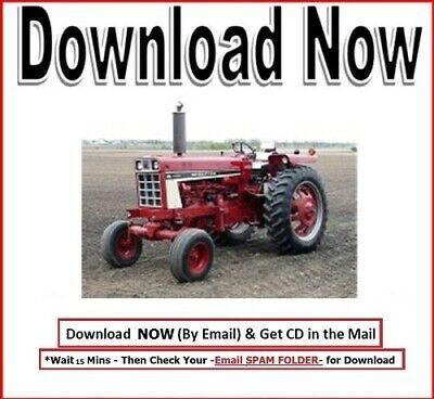 International Harvester Hydro 86 Tractor Technical Service Repair Manual Ih