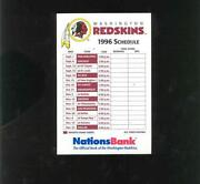 Redskins Schedules