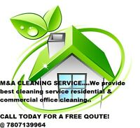 M&A CLEANING SERVICES Call @7807139964