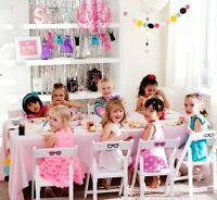 Bring a DREAM birthday party to your child!