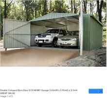 DOUBLE COMPACT BARN DOOR ECO-NOMY GARAGE 5.60MW X 5.50MD X 2.1MH Ravenshoe Tablelands Preview