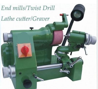 Universal Cutter Grinder Sharpener For End Milltwist Drilllathe Cutter Bi