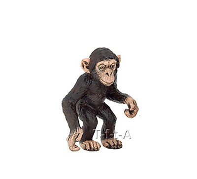 FREE SHIPPING | Papo 50107 Chimpanzee Baby Wild Animal Figurine - New in Package