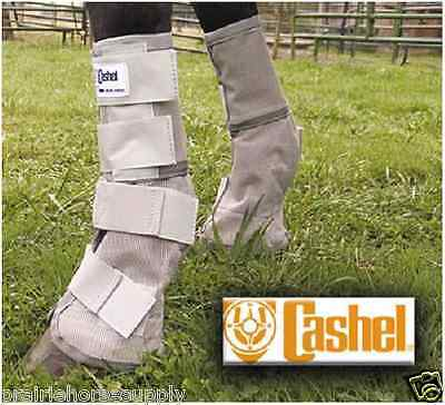 Cashel Crusader LEG GUARDS Mesh Boots Fly Control Size