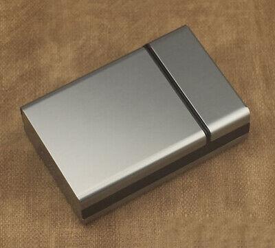 Aluminum Plastic Cigarette Case 20pc Smoke Box Pocket Tobacco Short Cigar Holder