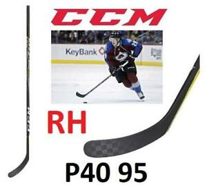 NEW CCM HOCKEY STICK SENIOR RH 243023298 SUPER TACKS 2.0 GRIP SR RIGHT HANDED P40 95 FLEX