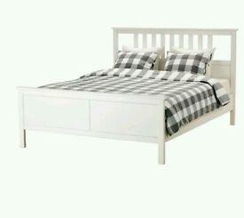 HEMNES double bed frame