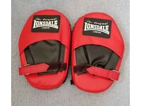 Lonsdale Hook and Jab Pads Muay Thai Boxing MMA Punch