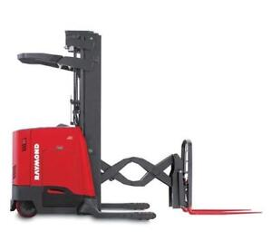 '05 + Reach Trucks | Used Ride On Pallet Jacks $1,200| Racking