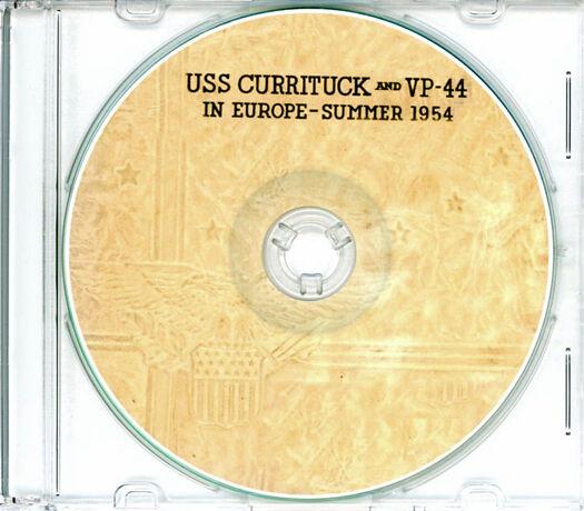 USS Currituck AV 7 and VP 44 Med CRUISE BOOK Log 1954  CD