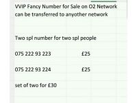 VIP Fancy Numbers for Sale on O2