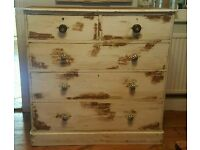 Unique chest of drawers ( free local delivery)