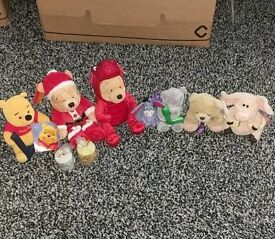 Selection of Disney & Hallmark Teddy Bears