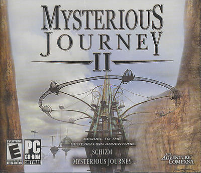 MYSTERIOUS JOURNEY II 2 - Sequel to Schizm - Adventure PC Game - SEALED NEW! Mystery Adventure Game