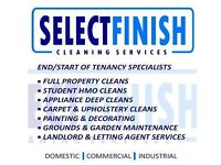 End of Tenancy / Deep Cleans / Decorating / Carpet Cleaning / Oven Cleaning / Gardenening