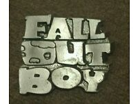 Heavy large Belt buckle Fall out boy