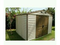 Duramax shed 10x8 ft New RRP £699