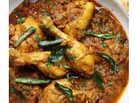 Ramadan home made chicken curry