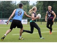 Touch rugby players of all abilities required for evening games during spring/summer.