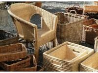 Wanted wicker natural baskets chairs decorations for nursery free