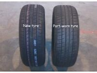 Tyres new and part worn (mobile)