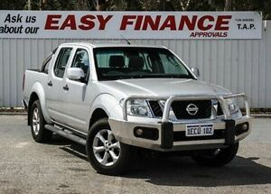 2013 Nissan Navara D40 S6 MY12 ST Silver 5 Speed Sports Automatic Utility Gosnells Gosnells Area Preview