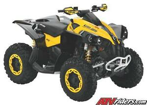2006 to 2012 can am, 800r use parts renegade oulander  MAX XT