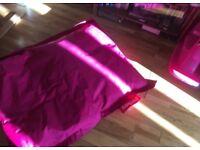 Fatboy bright pink Junior beanbag