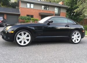 IMMACULATE BLACK CHRYSLER CROSSFIRE LOW MILEAGE 6 SPD STANDARD