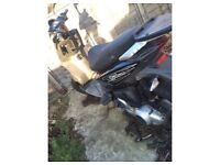Moped piaggio typhoon 125cc suffered minor crash hasn't gone threw insurance offers or swaps