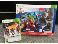 Disney Infinity Xbox 360 3.0 & 2.0 (plus figures)