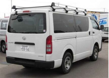 2013 Toyota Hiace KDH206 DX 4WD White Automatic Van Concord Canada Bay Area Preview