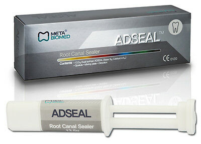 Meta Adseal Root Canal Sealer 13.5 Gm Dual Syringe Dental
