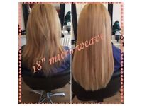 Mobile hair extensions