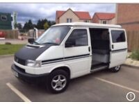 Wanted Volkswagen transporter t4 T5 vans camper day van any year left or right hand drive top prices
